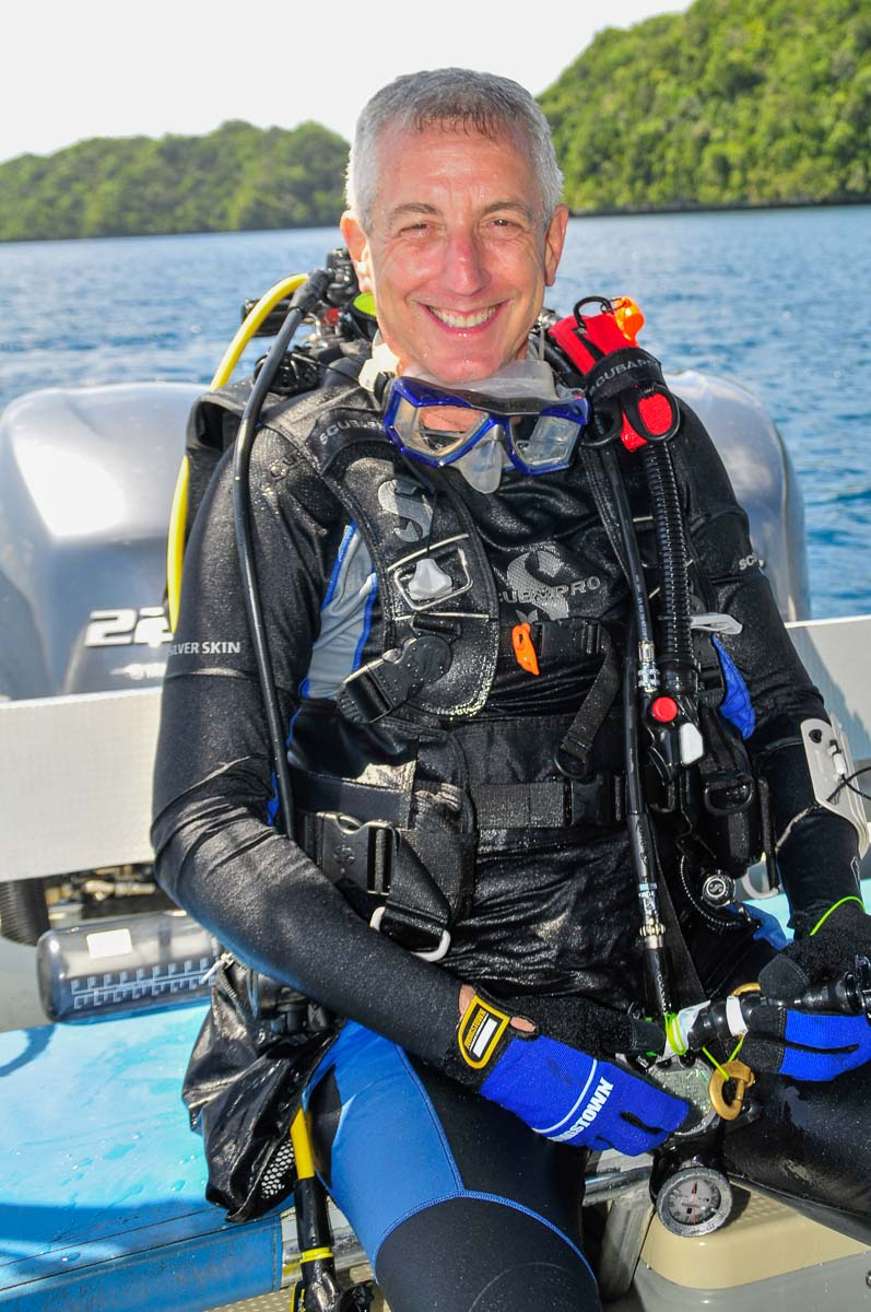 Flip Colmer Scuba Diver