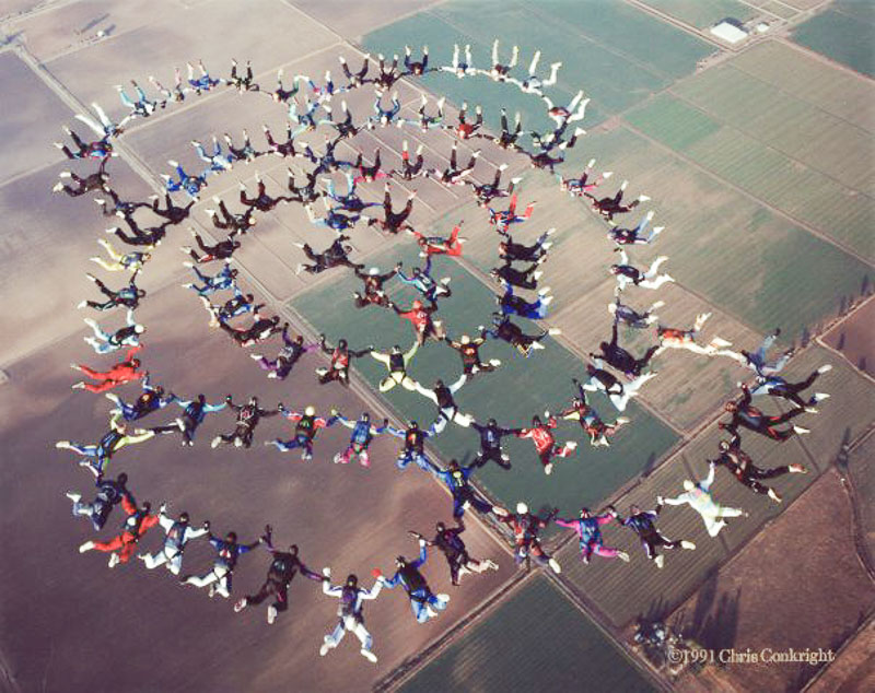 Big-way Skydive Formation