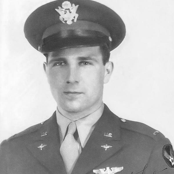 1st Lt. Paul L. Schwartz B-17 navigator