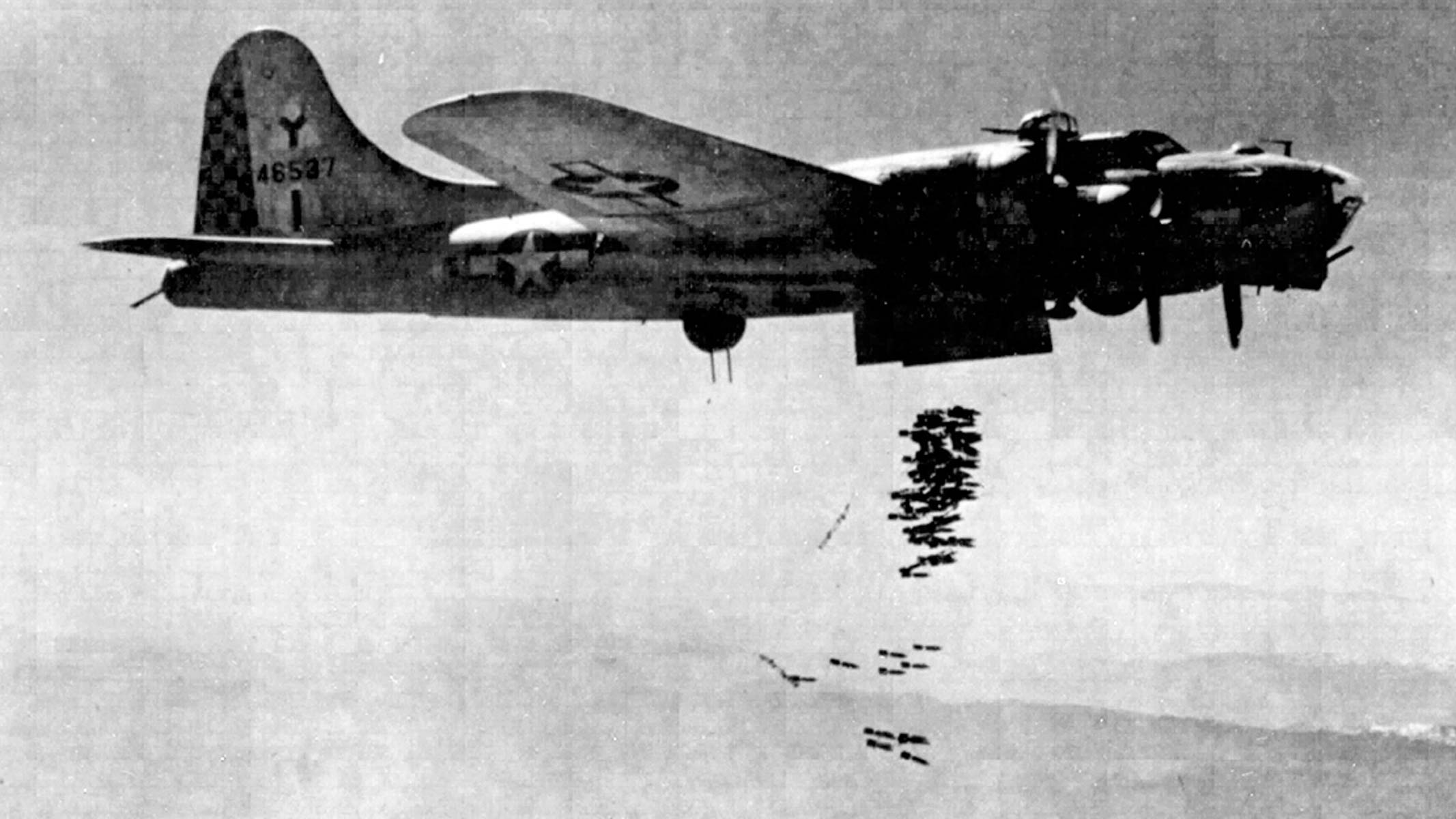 B-17 of 341st Squadron
