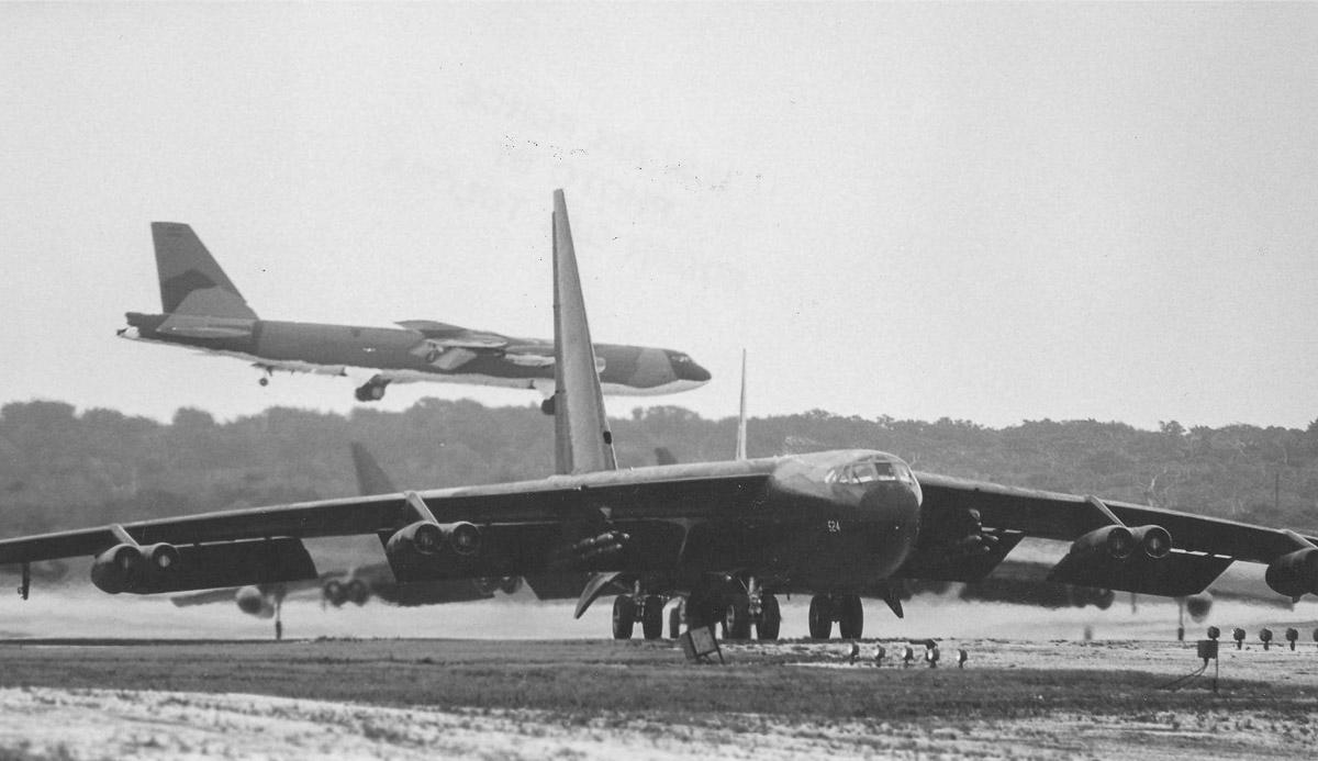 B-52's Andersen AFB Guam