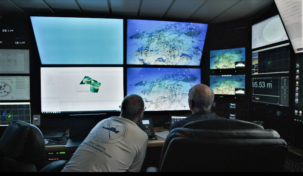 ROV Data Feeds of TBF Avenger - Hawaii - The Science Behind the Search for MIAs