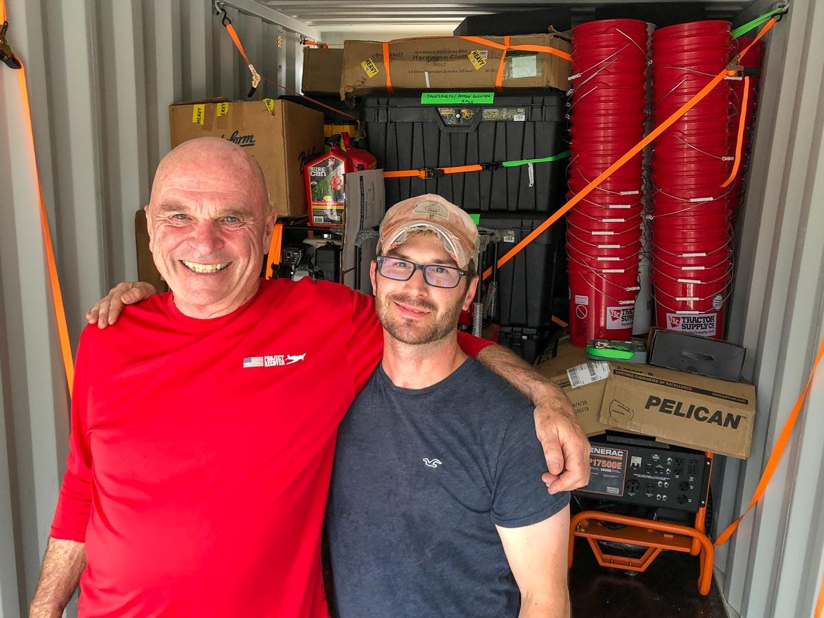 Dan and Adam Packers
