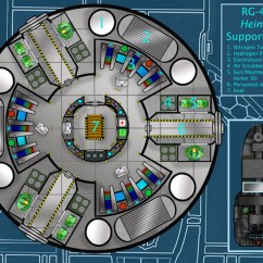 Real Rocket Ship Diagram Wiring Car Stereo System Deck Plans Atomic Rockets Blue Max Studio S Rg 403 Heinlein
