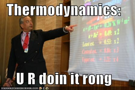 Thermodynamics Atomic Rockets