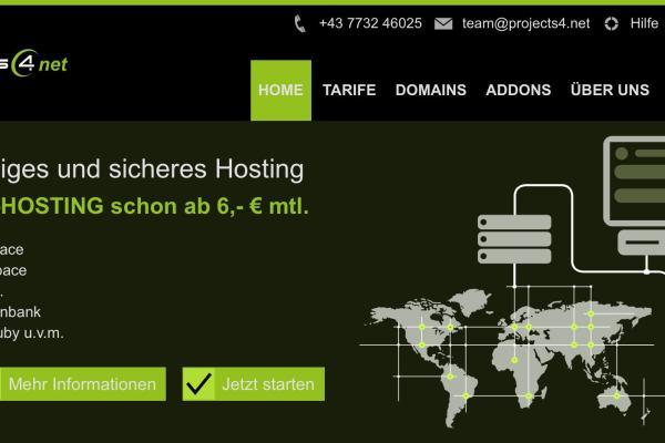Unser neuer WebHosting Shop ist online