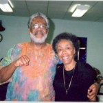Mukasa (Willie Ricks) and Gwen Patton celebrating the Life of the Late George Paris, Jr.
