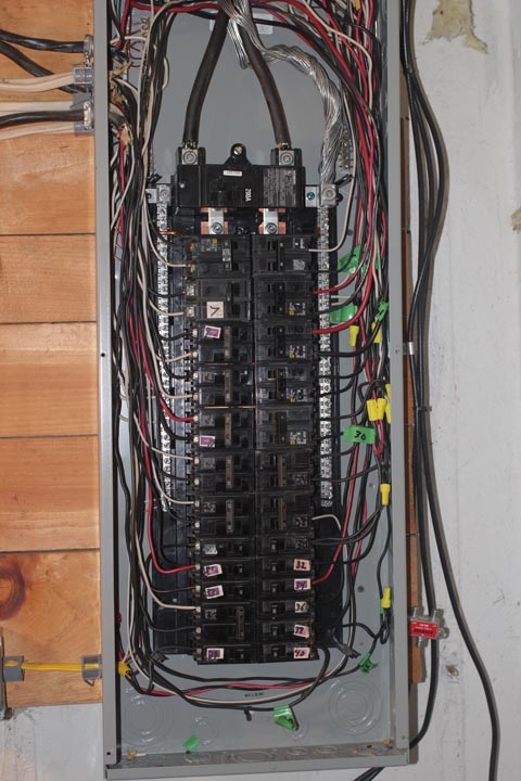 100 Amp Electrical Panel Wiring Diagram Installing A Gentran 3028 Transfer Switch Projects By Zac