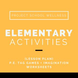 Project School Wellness, Health, Middle School, Teacher Blog, Elementary