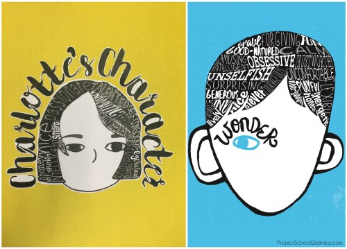 auggies-face-wonder, Wonder Lesson Plans, Wonder by R.J. Palacio