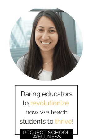 Your #1 teaching resource has arrived! Click and sign up for Project School Wellness Weekly, a newsletter designed by Janelle Kay! Janelle is a middle school teacher daring educators to revolutionize how we empower students to thrive. Signing up will give you access to the Project School Wellness resource library, loaded with free resources, activities, and lesson plans for your classroom!