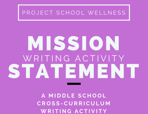 A must have free download for every middle school teacher! This mission statement writing activity breaks down the mission statement writing process for any middle schooler. This no-prep activity can be used in any classroom across the curriculum. It's especially useful for middle school language arts teachers, health teachers, and Advisory coordinators. This Project School Wellness resource is a must have free download! Click to download your free lesson plan and activity guide today!