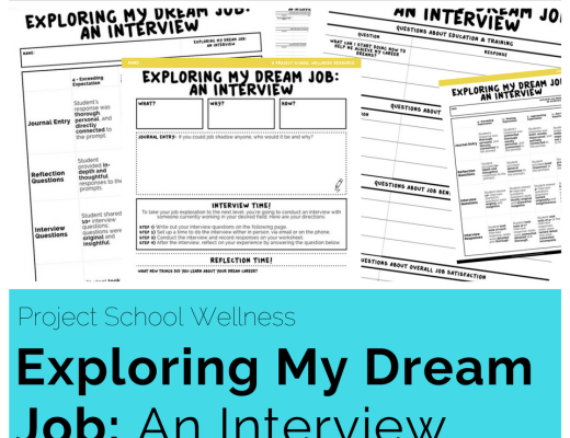 The Exploring My Dream Job: What I'm Looking for... lesson plan is an opportunity for students to intentionally define what they are looking for in a career. This lesson plan takes a unique approach to career exploration as it challenges students to consider their total well-being as they begin exploring careers.