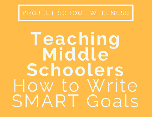 Teaching Middle Schoolers How to Write SMART Goals - - A middle school teacher blog all about writing SMART Goals.