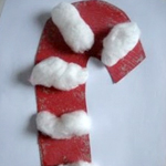 Fluffy Candy cane