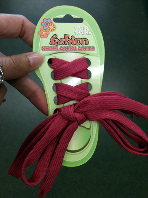 Dollar Tree Shoe Laces