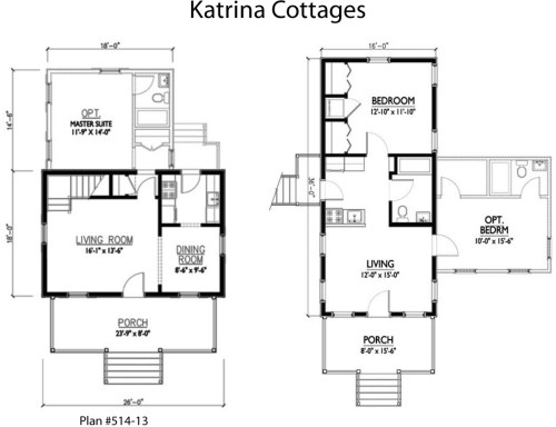 Katrina Cottages Plans - Katrina Cottage Comeback? - Project Small House