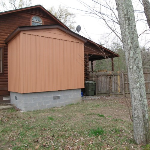 Project: Adding Closets to the log cabin