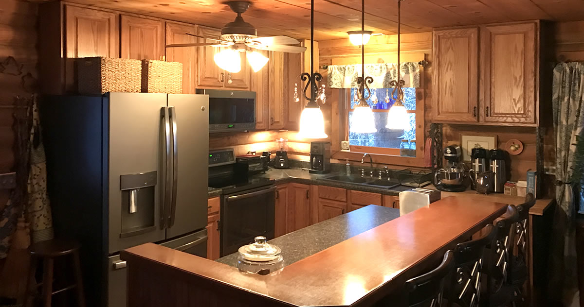 Project: Log Cabin Kitchen