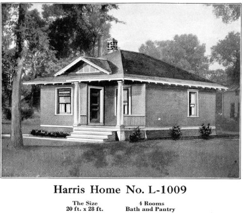 Historic Plans: Neat Trim Bungalow Harris Home No. L-1009