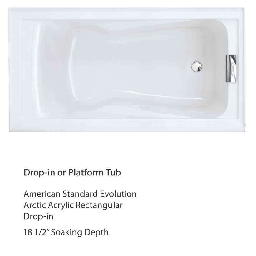 Project: Finding The Deepest Tub For The Money U2013 Drop In Or Platform Tub