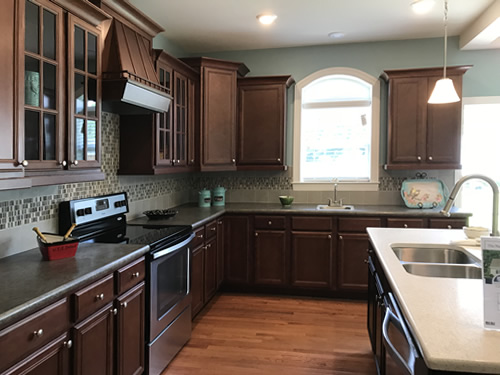 Kitchen - Modular Homes: The Maiden II at Premier Homes of the Carolinas – Project Small House