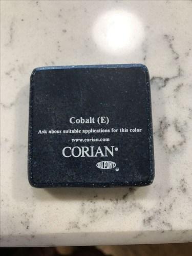 Cobalt Corian Sample - Schumacher Homes Cross Creek – Project Small House