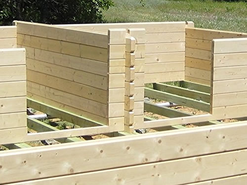 The Lillevilla Getaway Cabin Kit Is Ready To Be Assembled Tongue In Groove,  Like A