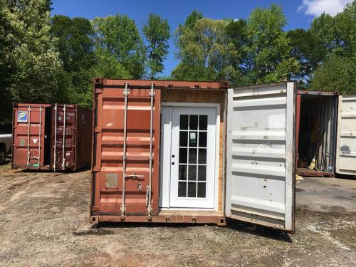 Shipping Container with doors - Project Small House