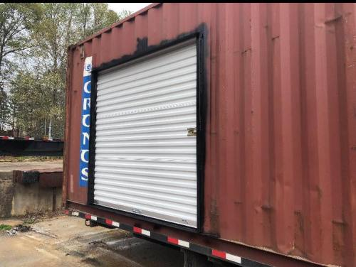 Shipping Container with Rollup door - Project Small House