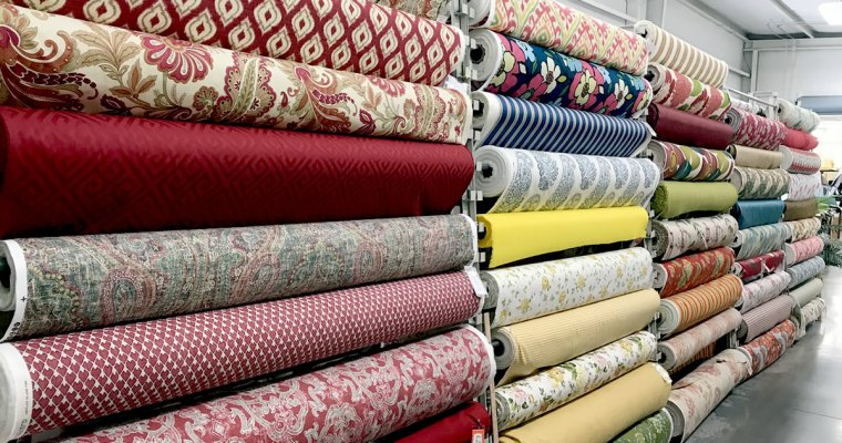 Browsing the Fabric Outlet