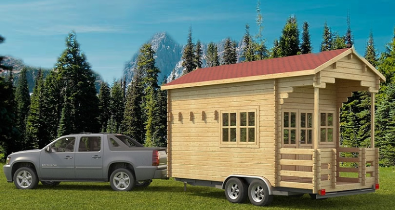 Allwood Pioneer Tiny Towable Kit – Project Small House