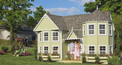 Little Cottage Co. Sara's Victorian Mansion DIY Kit - Project Small House