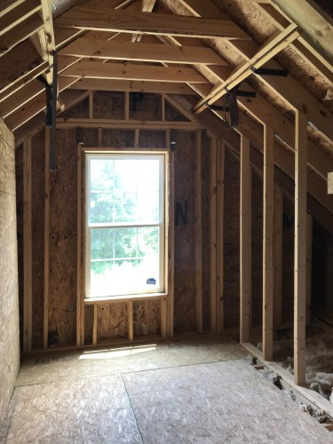 Unfinished Upstairs - Modular Homes: The Maiden II at Premier Homes of the Carolinas – Project Small House