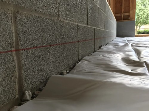 Preparing to Pour the Concrete Garage Floor – Project Small House