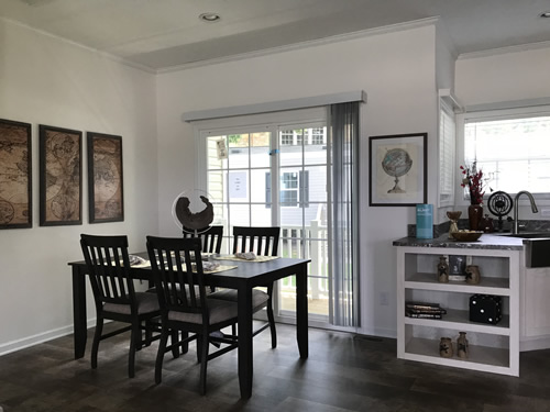 Dining Area - Model Modular at Clayton Homes – Project Small House