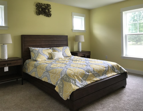 Bedroom - New Modular at Premier Homes of the Carolinas – Project Small House