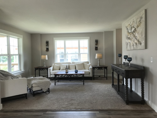 Living Room - New Modular at Premier Homes of the Carolinas – Project Small House