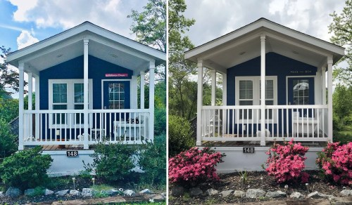 This is definitely the same Tiny House. - See Inside the Tardis Tiny House – Project Small House