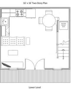 Potential plan for Summer Wind Barn Realistic? - Summer Wind: Two Floor Storage Barn – Project Small House