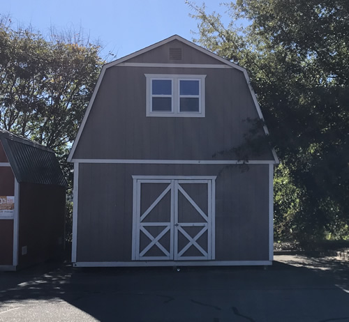 Summer Wind Two Story Barn - Summer Wind: Two Floor Storage Barn – Project Small House
