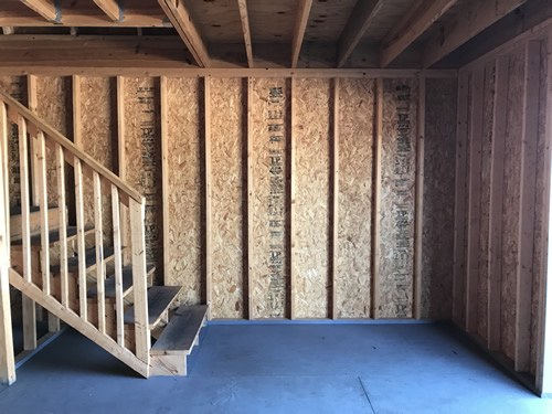 Downstairs - Summer Wind: Two Floor Storage Barn – Project Small House
