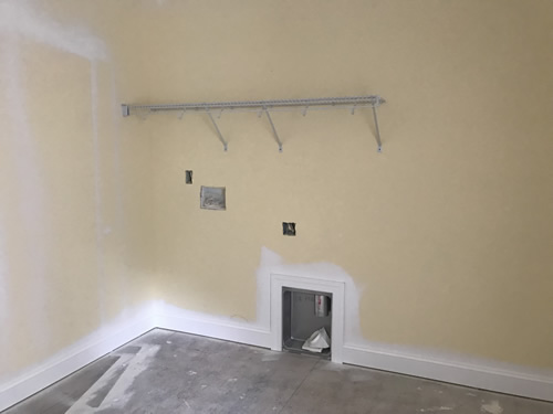 Laundry Room Shelf - Closets – Building our Schumacher Home – Project Small House