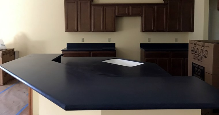 Cobalt Blue Corian Countertops