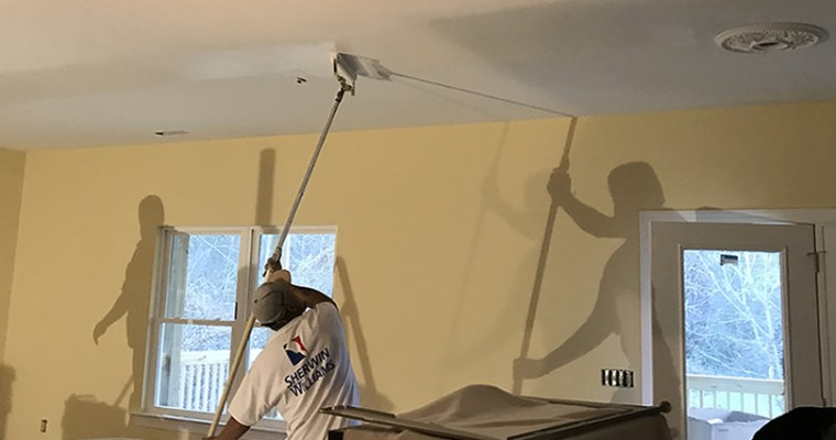 Finishing the Plaster and Paint
