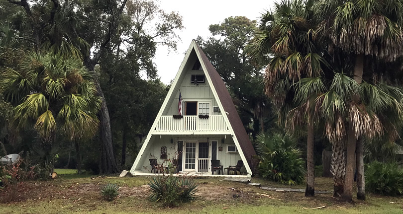A-Frame House on Hilton Head Island