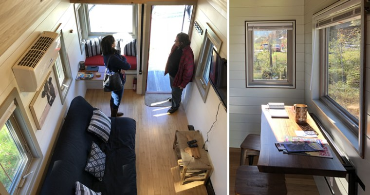Red Crown Tiny Homes Tiny House at Acony Bell Tiny Home Village Open House