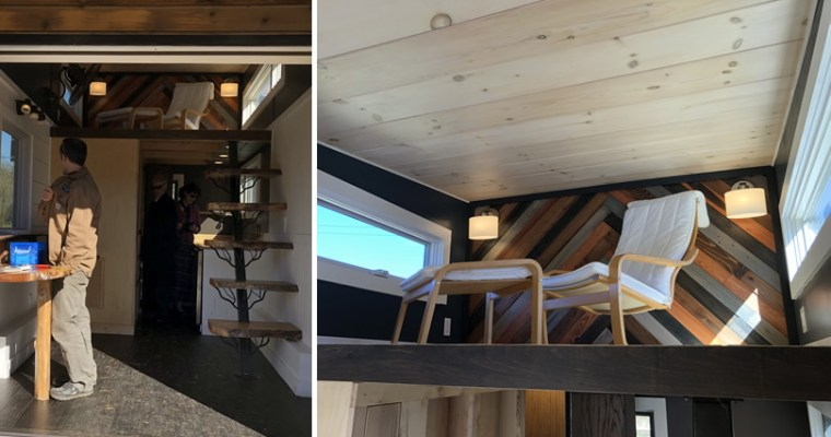 More Photos from the Open House at Acony Bell Tiny Home Village