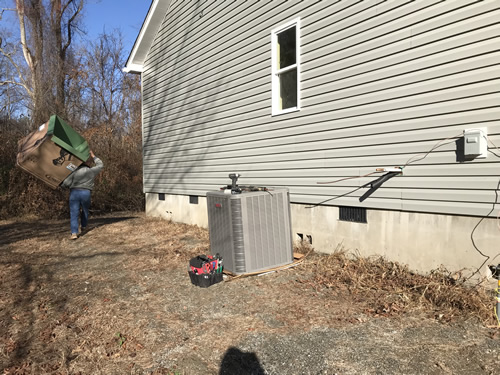 The heat pump - Finishing the HVAC - Project Small House