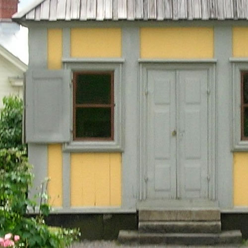Detail of colors - Inspiration: Swedish Summer House